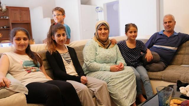 Familie Al Sheikh aus Syrien.