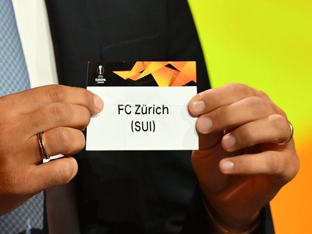 Zürich Auslosung EL