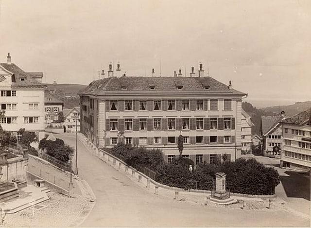 Der Fünfeckpalast um 1894.