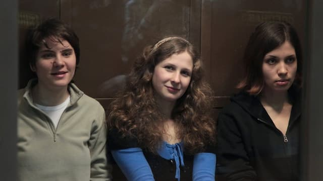 Die drei jungen Frauen von Pussy Riot
