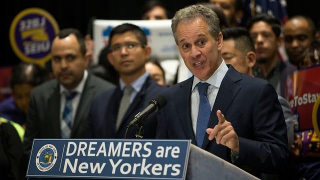 Der Generalstaatsanwalt von New York, Eric Schneiderman.