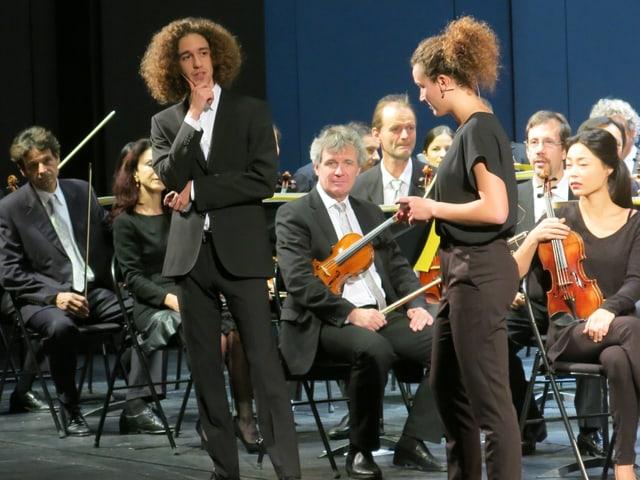 Orchester mit Jugendlichen