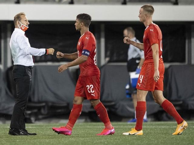Die Schweizer 21-Nationalmannschaft hat bislang eine weisse Weste.