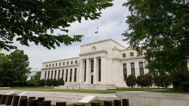 bajetg da la banca naziunala americana a Washington
