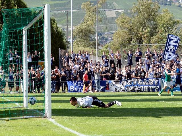 Im letzten Jahr startete der FC Zürich gegen den FC Chippis in den Cup.