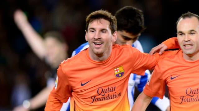Lionel Messi stellt einen Rekord ein.