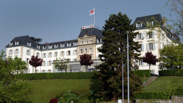 Hauptsitz des IKRK in Genf.