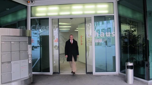 Hansjörg Trachsel verlässt das Medienhaus in Chur
