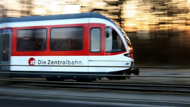 Zug der Zentralbahn.