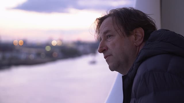 Lieblingsplatz mit Ausblick: Georges Delnon im 12. Stock der Elbphilharmonie.