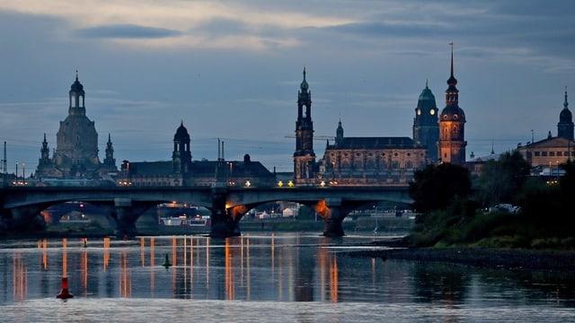 Purtret da la citad vegla da Dresden.