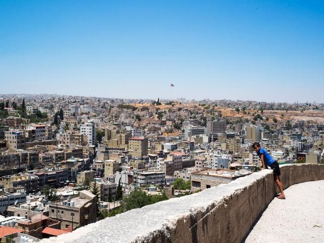 Der Blick über die Dächer von Jordaniens Hauptstadt Amann. Die Ruhe trügt.