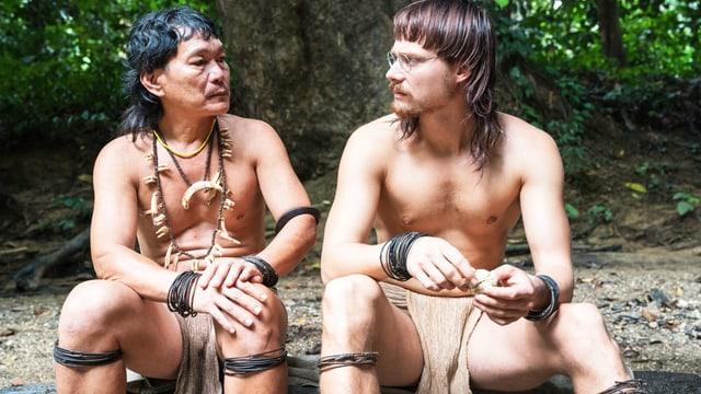 Für den Film lernte Sven Schelker die Penan-Sprache.