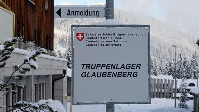 Entrada dal champ per truppas Glaubenberg.
