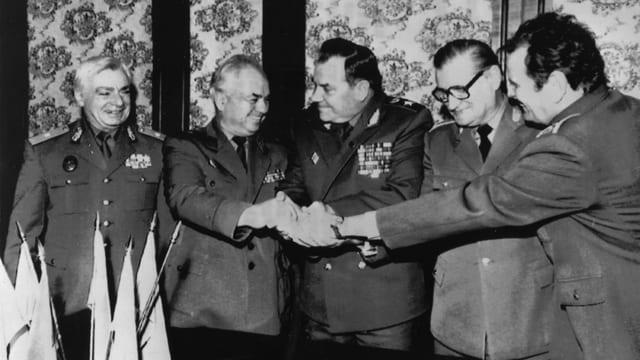 März 1991: Treffen der Top-Generäle in Moskau