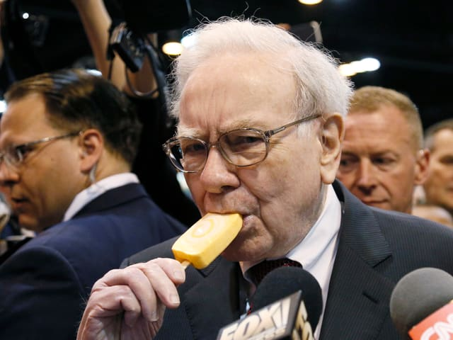 Portät Warren Buffett