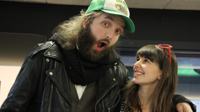Elia Rediger kam mit The-bianca-Story-Sängerin Anna Gosteli.
