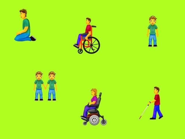 Neue Emojis mit Menschen