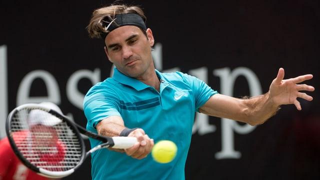Federer dat tennis, vesa or segir da sesez.