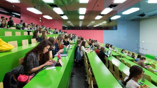 Studenten an der Universität.