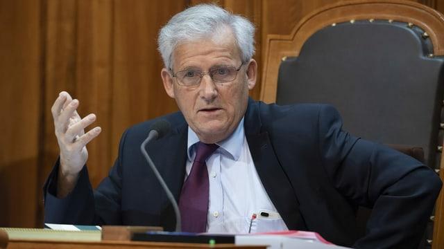 SP-Ständerat Hans Stöckli
