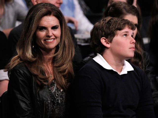 Mariah Shriver mit ihrem Sohn Christopher