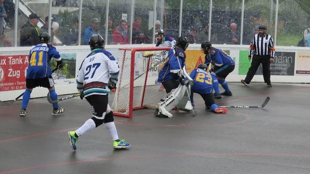Streethockey-Spiel