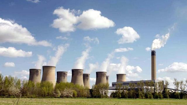 Energistation in East Yorkshire, England.