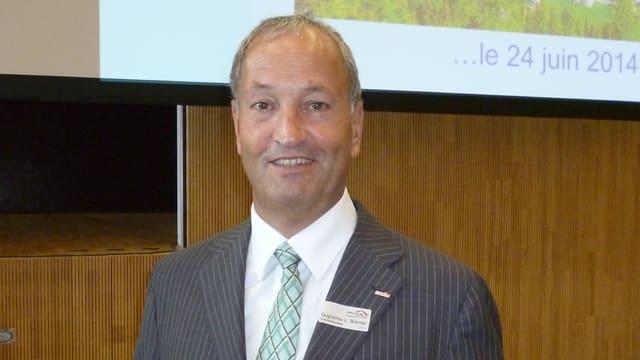 Redet Klartext mit seinen Kollegen: Hotelleriesuisse-Präsident Guglielmo Brentel