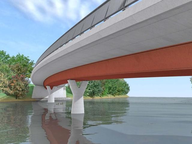 Visualisierung einer Brücke