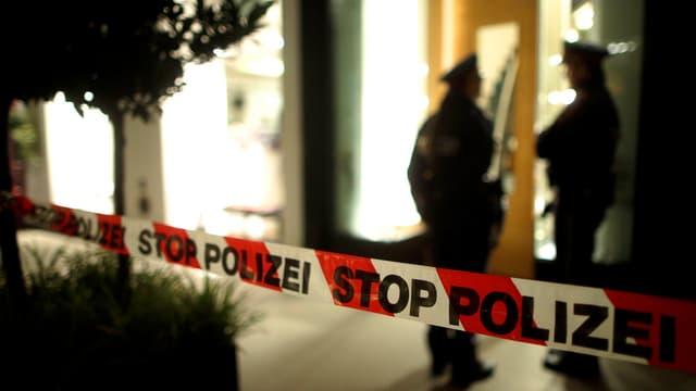 Polizeisperrband (Symbolbild)