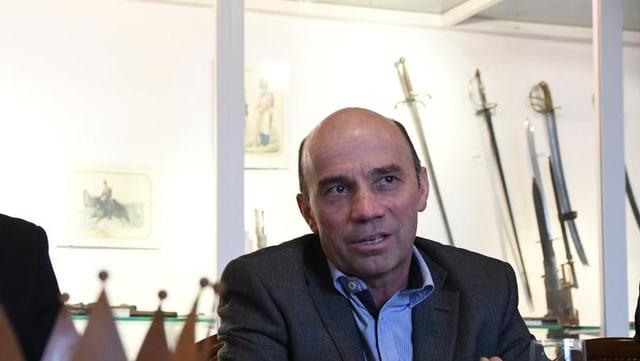 Stefan Koster, SVP-Stadtrat, kandidiert für das Amt des Stadtpräsidenten.