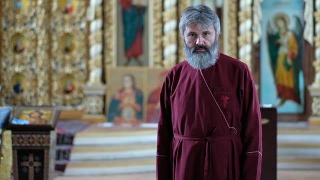 Erzbischof Wladika Kliment.