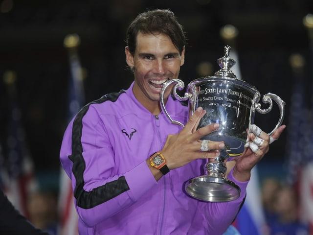 Titelverteidiger Rafael Nadal.