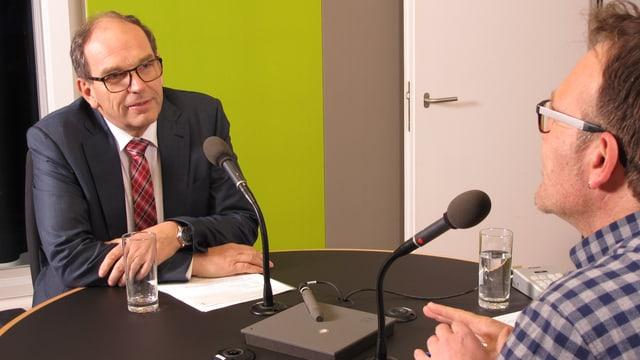 Regierungsrat Bruno Damann