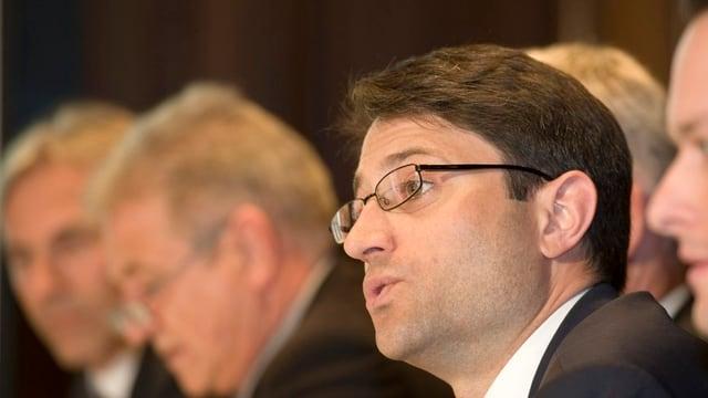 CVP-Grossrat Lukas Engelberger