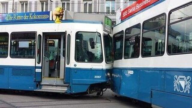 Dieser Tramunfall am Paradeplatz war der Auslöser für das neue Signal.