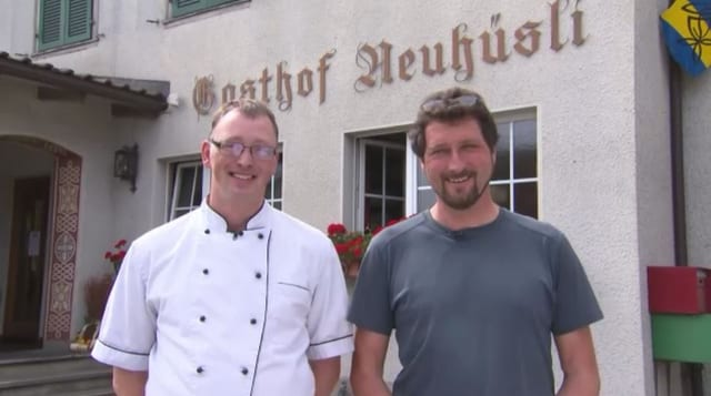 Video «Kanton Bern – Tag 4 – Gasthof Neuhüsli, Langenthal» abspielen