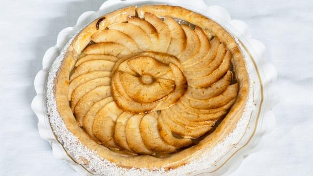 Apfelkuchen Symbolbild.