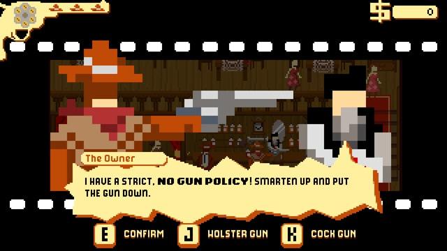 Eine Szene aus dem Game «Westerado».