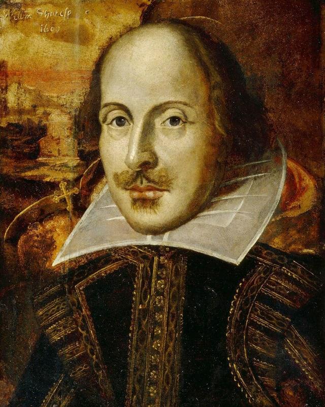 Gemälde von William Shakespeare.
