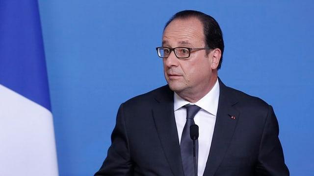 Tranter auter ha il NSA era tadlà gì il president franzos actual, François Hollande.