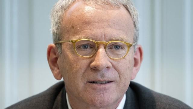 Porträtaufnahme des Eidgenössischen Datenschützers Andreas Lobsiger