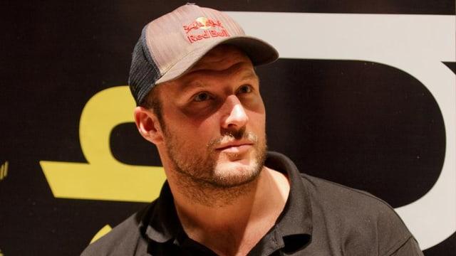 Aksel Svindal mit Baseball-Cap.