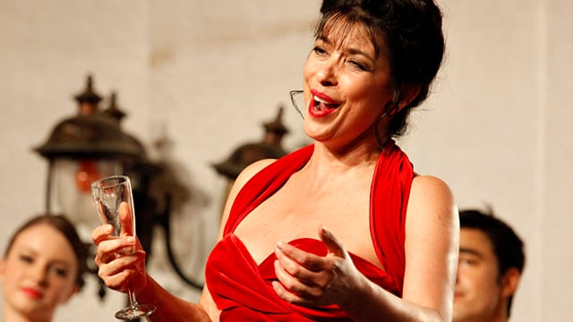 Sängerin an den Solothurn Classics