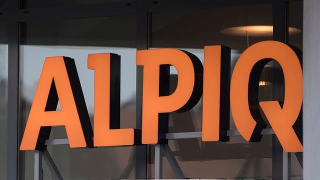 Filiala dad Alpiq cun logo.