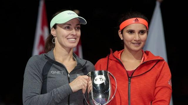 Martina Hingis e Sania Mirza