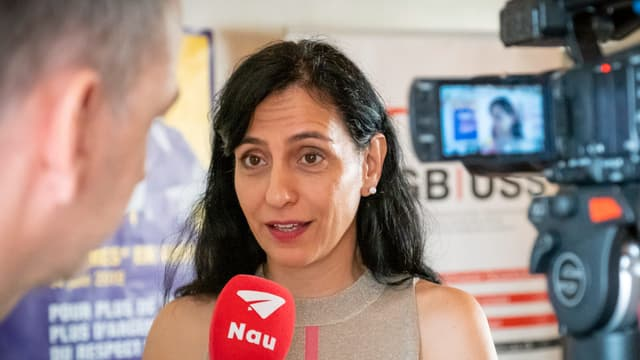 Vania Alleva, la vicepresidenta da l'Uniun sindicala svizra.