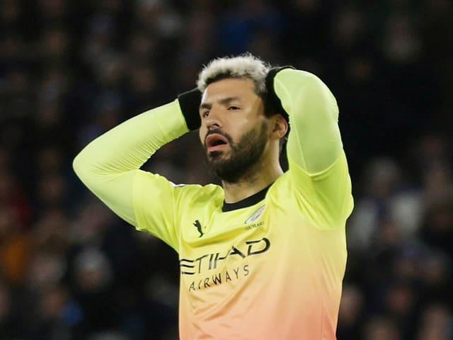 Sergio Agüero ist enttäuscht.
