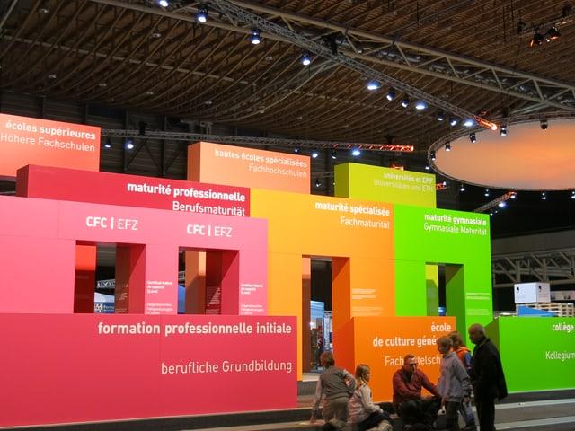Der Eingang der Ausstellung.